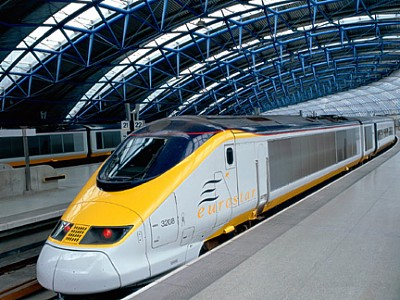 Ashford Eurostar Trains